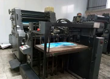 单色印刷机_中山海德宝82cm单色印刷机处置