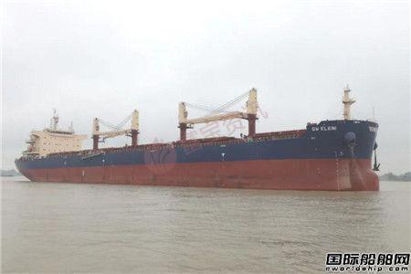 扬州中远海运重工一艘64000吨散货船完成试航